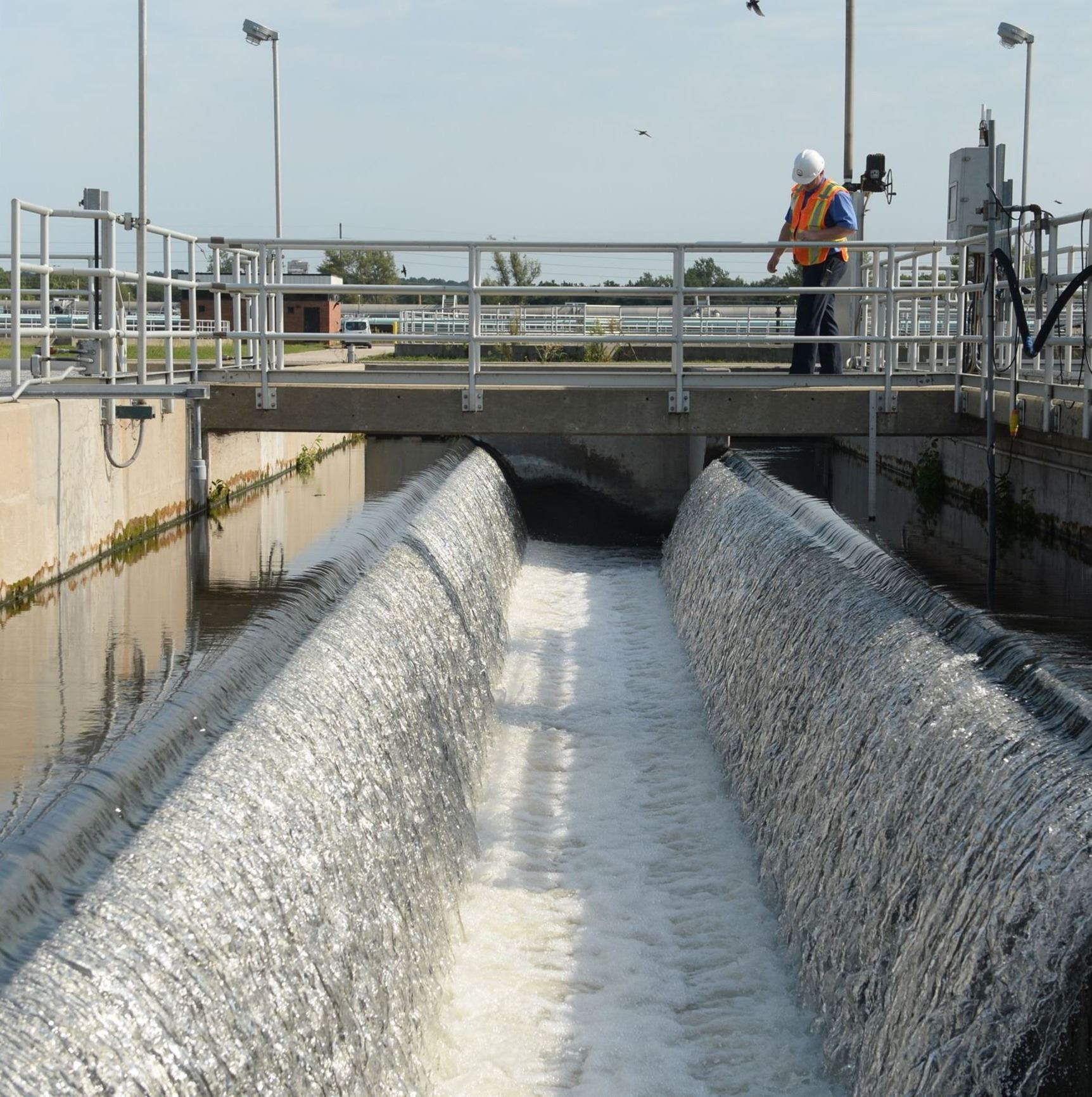 Final Effluent Weir