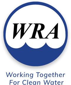 WRA Logo Working Together For Clean Water